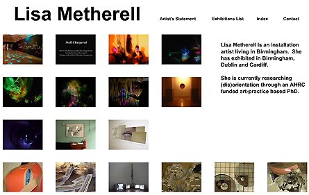 Lisa Metherell's website