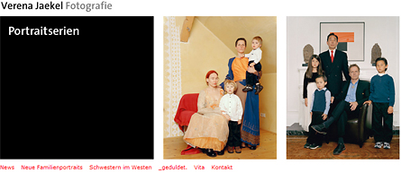 Photographer Verena Jaekel's website
