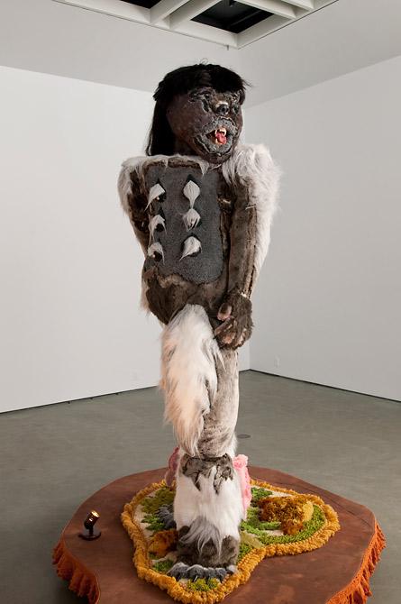 Lady Sasquatch by Allyson Mitchell
