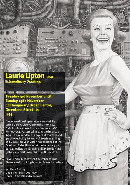 Homotopia 09 presents Laurie Lipton's drawings