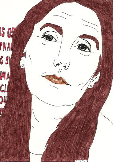 My Ancestors: Jenny Holzer, by Martina Minette Dreier