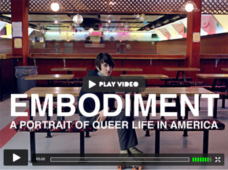 Embodiment, promotional video about Molly Landreth and Amelia Tovey's queer archive