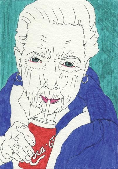 My Ancestors: Louise Bourgeoise by Martina Minette Dreier
