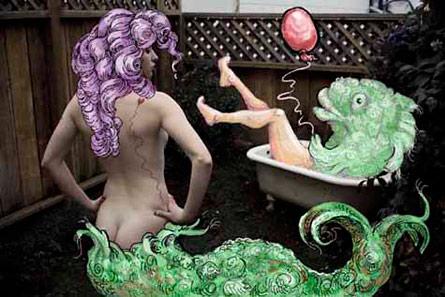 Mermaid by Molly Crabapple and Najva Sol