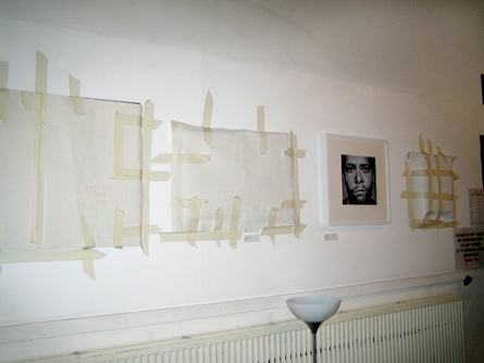 Queer Art covered-up at the GFEST 2010 visual arts exhibition