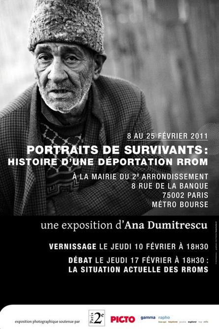 Portraits de Survivants - by Ana Dumitrescu