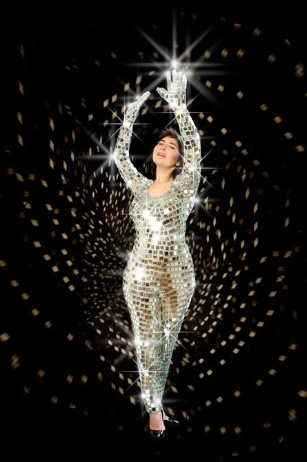 Mirror Ball, performance by JessDobkin, 2008-2009