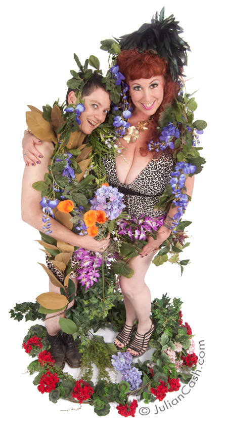Ecosexuals Annie Sprinkle and Elizabeth Stephens