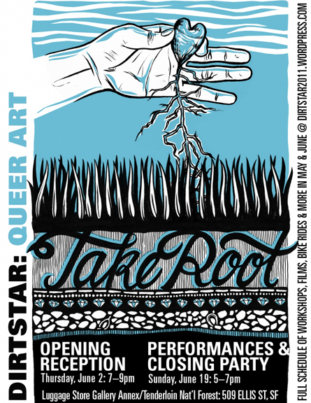 Dirtstar 2011: Take Root invitation