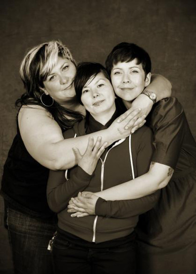 Chosen Family Portraits #10 by Sarah Race. Press photo courtesy of Celebrate Queer Vancouver and Vancouver Queer Film Festival