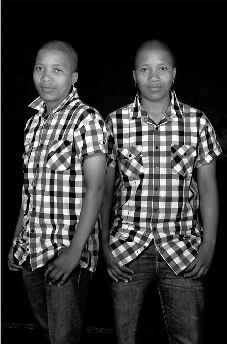 Thandi and Thandeka Mbatha by Zanele Muholi