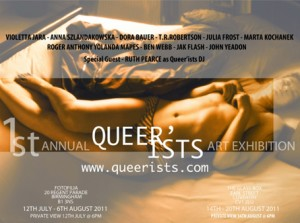 Queer'ists poster by Marta Kochanek 2011