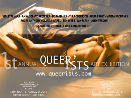 Queer'ists poster by Marta Kochanek 2011