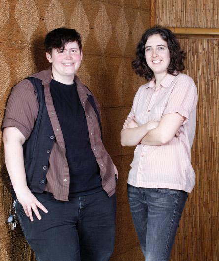 Sarah Race and Sarah Buchanan, authors of the Chosen Family Art Project