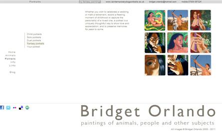 Bridget Orlando's website
