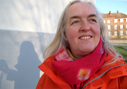 Birthe Havmoeller, self portrait January 2012