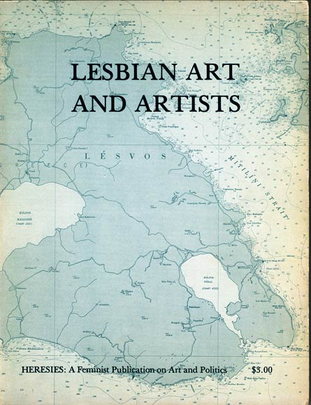 Cover of Heresies - Lesbian Art and Artists - courtesy of Harmony Hammond