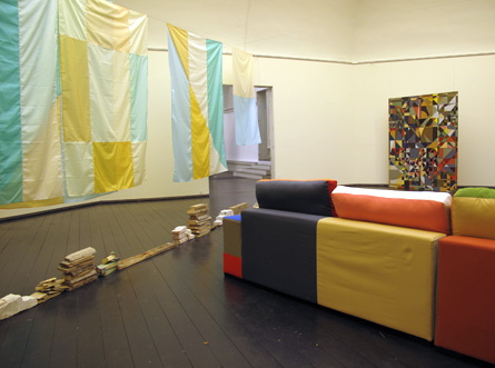Installation view from WE HAVE A BODY by Mette Winckelmann. Photo by Femnine Moments.