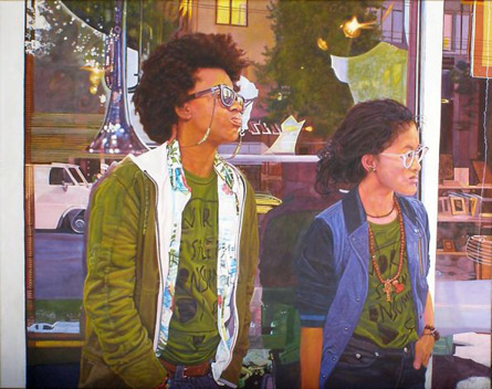 Painting by Lenore Chinn