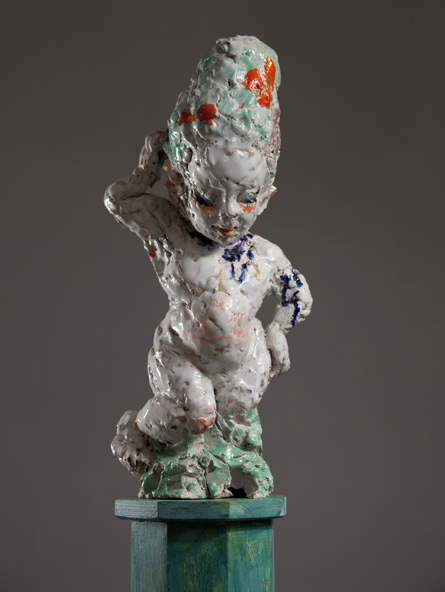 The Child Venus, sculpture by Emma Helle
