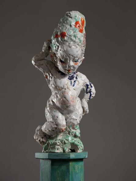 The Child Venus, sculpture by Emma Helle