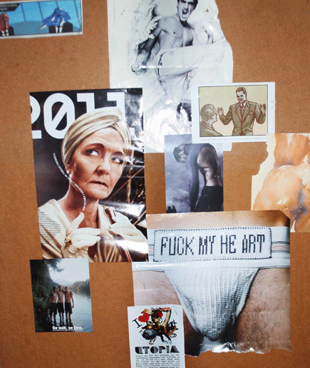 C---1, collage by Elinore Lindén Strand