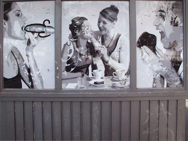 Triptych by Birthe Havmoeller