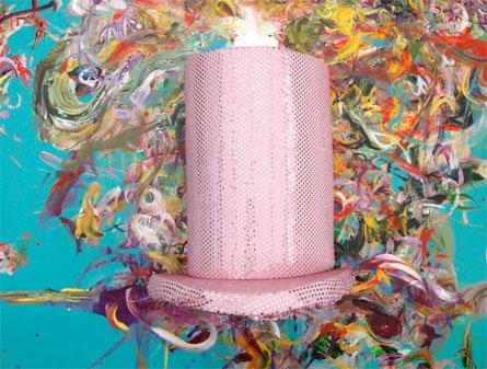 Stress-hat by Henriette Hellstern-Kjoeller