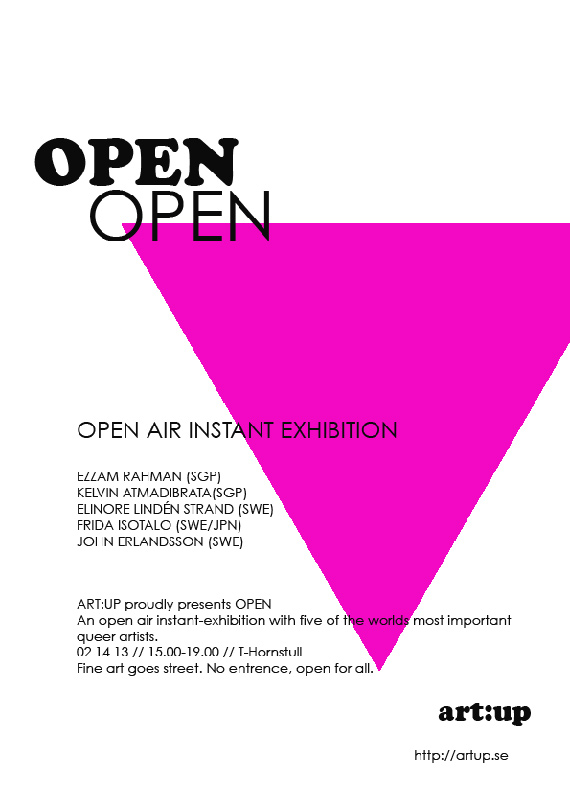 Open Open Open, Stockholm 2013
