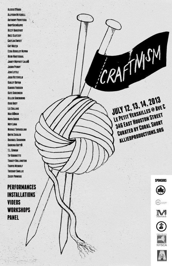 Craftivism Poster