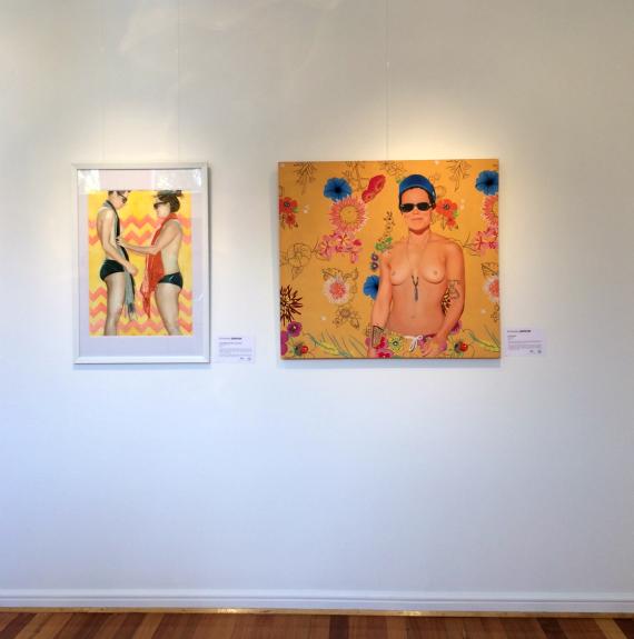 Paintings by Kim Leutwyler