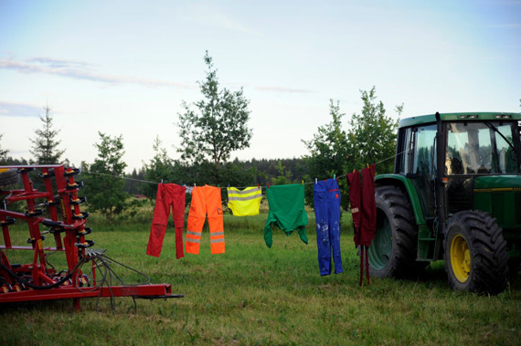 Traktor, from the Washing Line by Heidi Lunabba