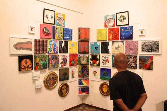 The 377191 Wall exhibition i Mumbai 2015