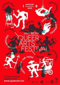 Poster, Antwerp Queer Arts Festival