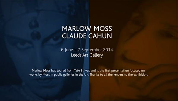 Marlow Moss & Claude Cahun