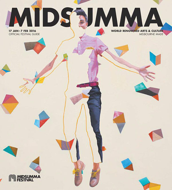 Midsumma Festival Cover 2016 by Kim Leutwyler