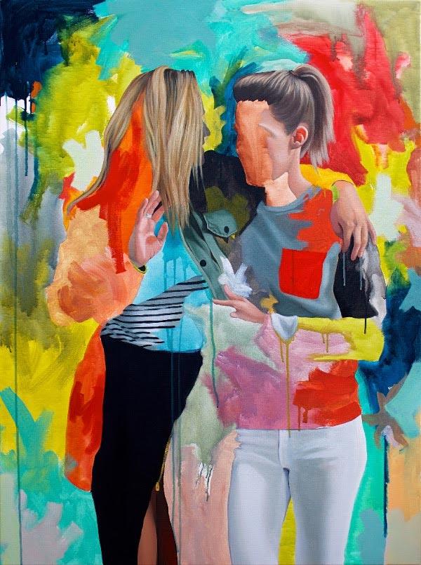 Painting by Kim Leutwyler