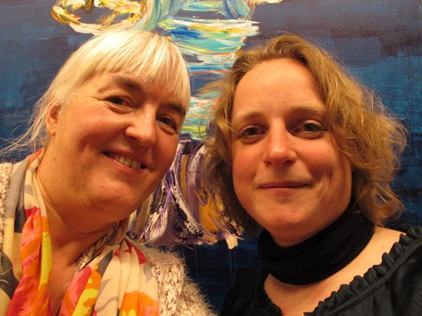 Birthe Havmoeller and Henriette Hellstern