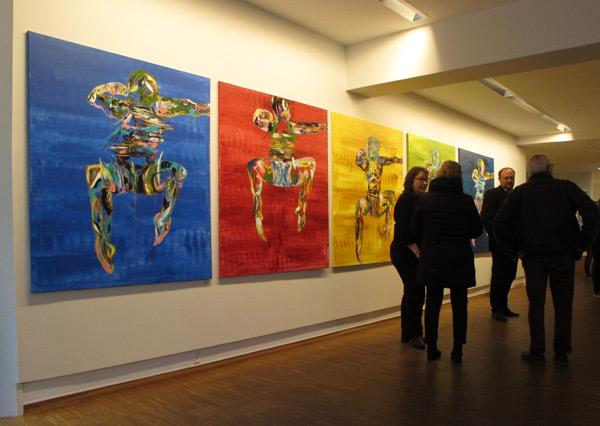 Exhibition view from Henriette Hellstern: Weightless