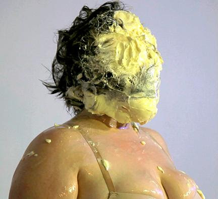 Jessica Posner, video still from Butter Body Politic