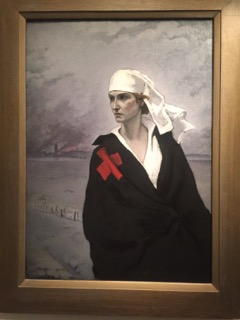 Painting by Romaine Brooks