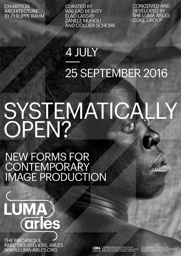 SYSTEMATICALLY OPEN? Luma poster