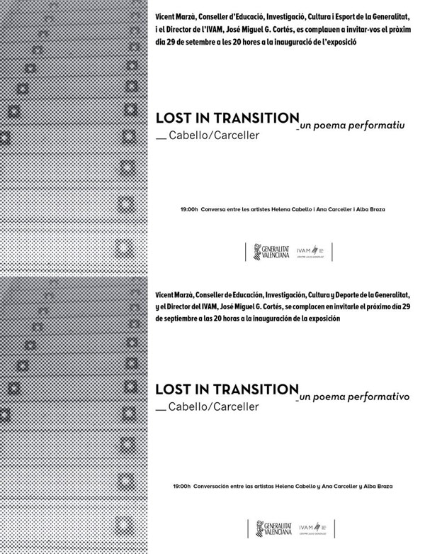 Lost in Transition by Cabello/Carceller