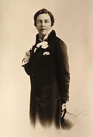 Romaine Brooks, Portrait ca. 1910.