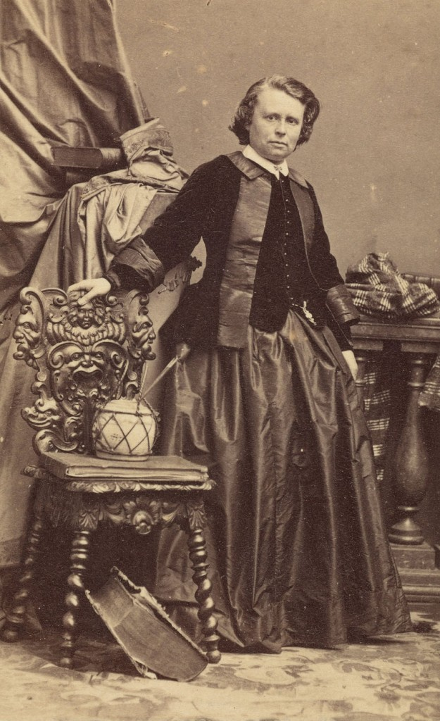 Rosa Bonheur, portrait ca. 1861-64