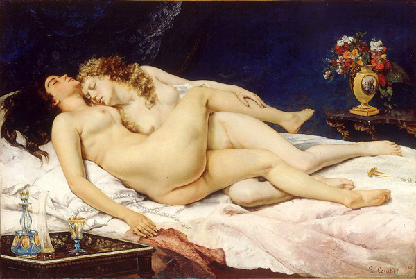 Gustave Courbet: Le Sommeil 1866