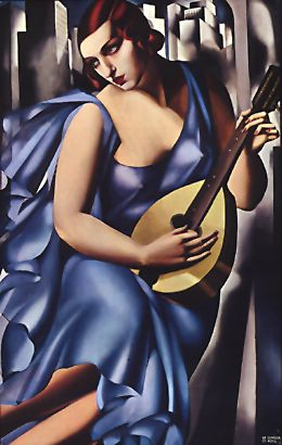 """The Musician"" by Tamara de Lempicka (1929)"