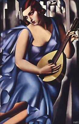 """The Musician"" by Tamara de Lempicka (1929)"