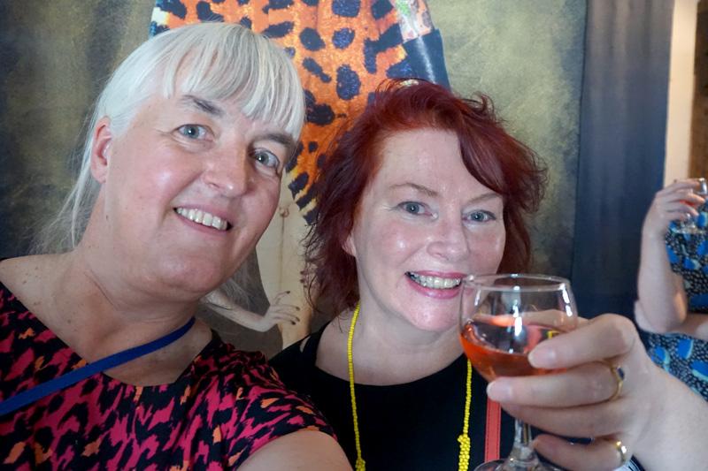 Birthe Havmoeller and Deborah Kelly