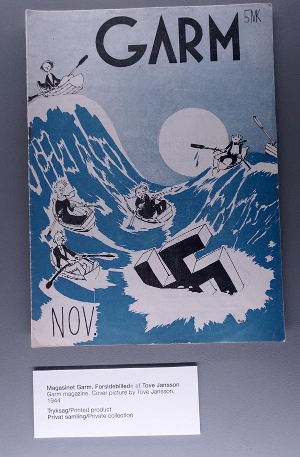 Tove Jansson cover, Garm 1944